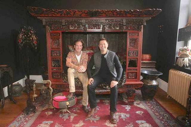 George Clarke, Mark Hinchliffe, design, art, sculpture, architecture, treasures, renovation, TV, Restoration Man, Channel 4, Chapel HG1, Grove Road, Harrogate, salon, collection, venue, design, decor, furnishing,